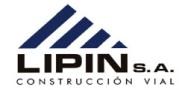 Lipin Construcción Vial confió en nuestro Software de Facturación Electrónica en Uruguay.Solución Integral de Facturación Electrónica, segura, rápida, accesible y fácil implantación. Servicio de facturación electrónica en Uruguay