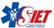 SIET Sistema Integral de Emergencia y Traslado confió en nuestro Software de Facturación Electrónica en Uruguay.Solución Integral de Facturación Electrónica, segura, rápida, accesible y fácil implantación. Servicio de facturación electrónica en Uruguay